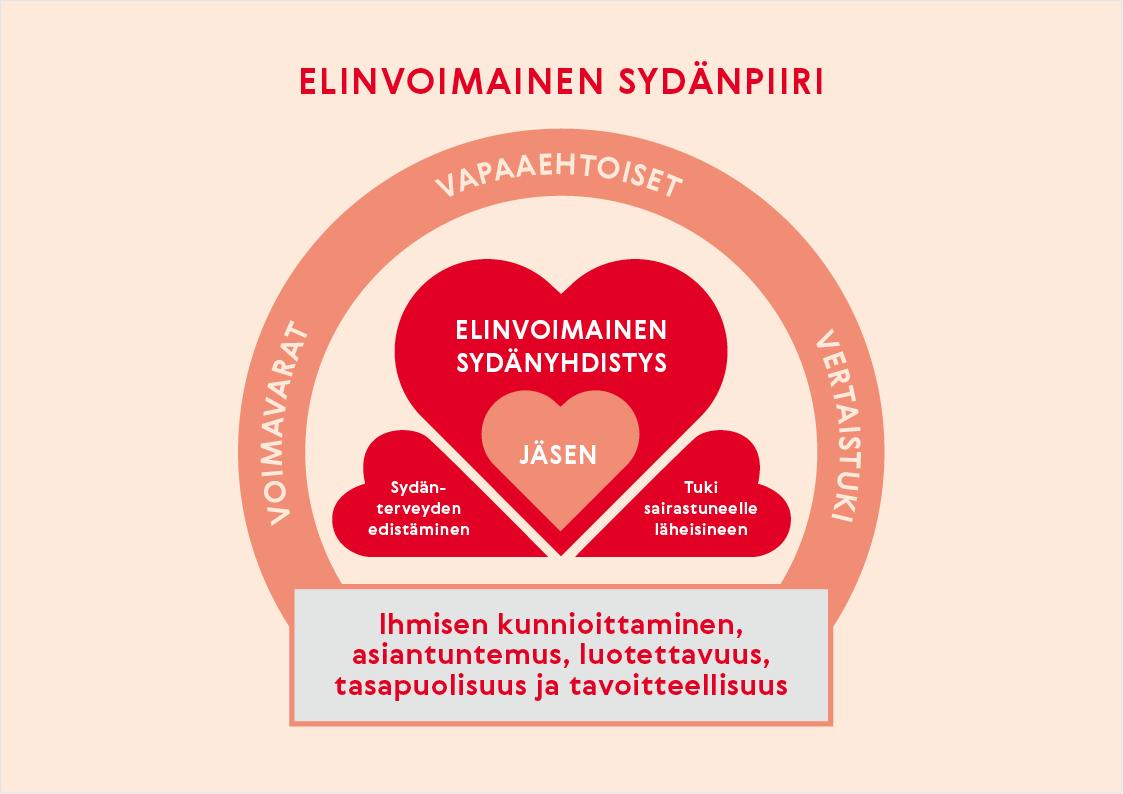 Etelä-Suomen Sydänpiirin strategia kuvana