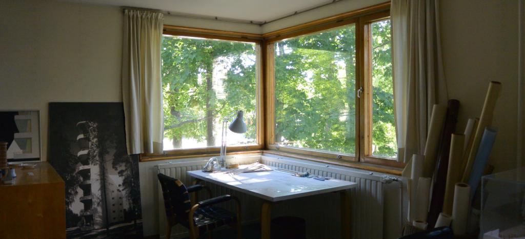 Alvar Aallon työpöytä