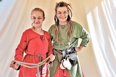 Katleena Kortesuo ja Verka-tytär