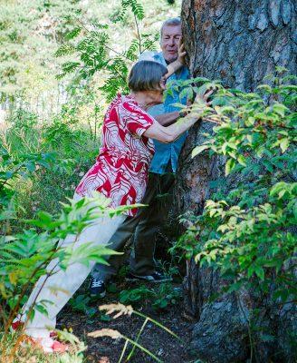 Puupunnerrus luonnossa
