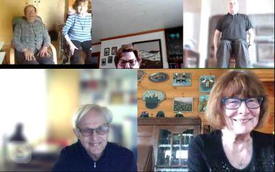 Härkätien sydänyhdistys Skype-yhteydessä