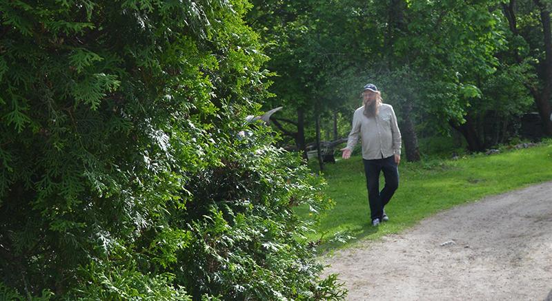 Jean Ramsay ja veistospuisto
